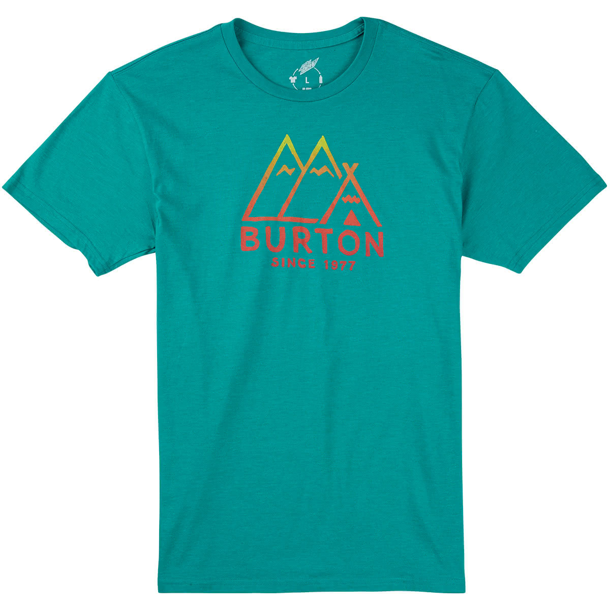 Koszulka Burton Foothills Rpet (Teal Heather) W16