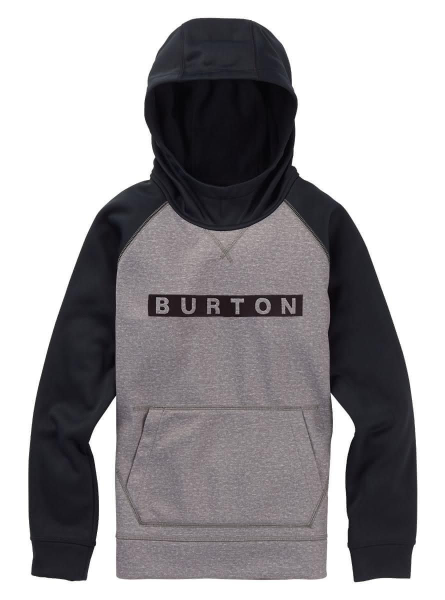 Dziecięca Bluza Aktywna Burton Boys Crown Bonded Po (True Black Heather) W19