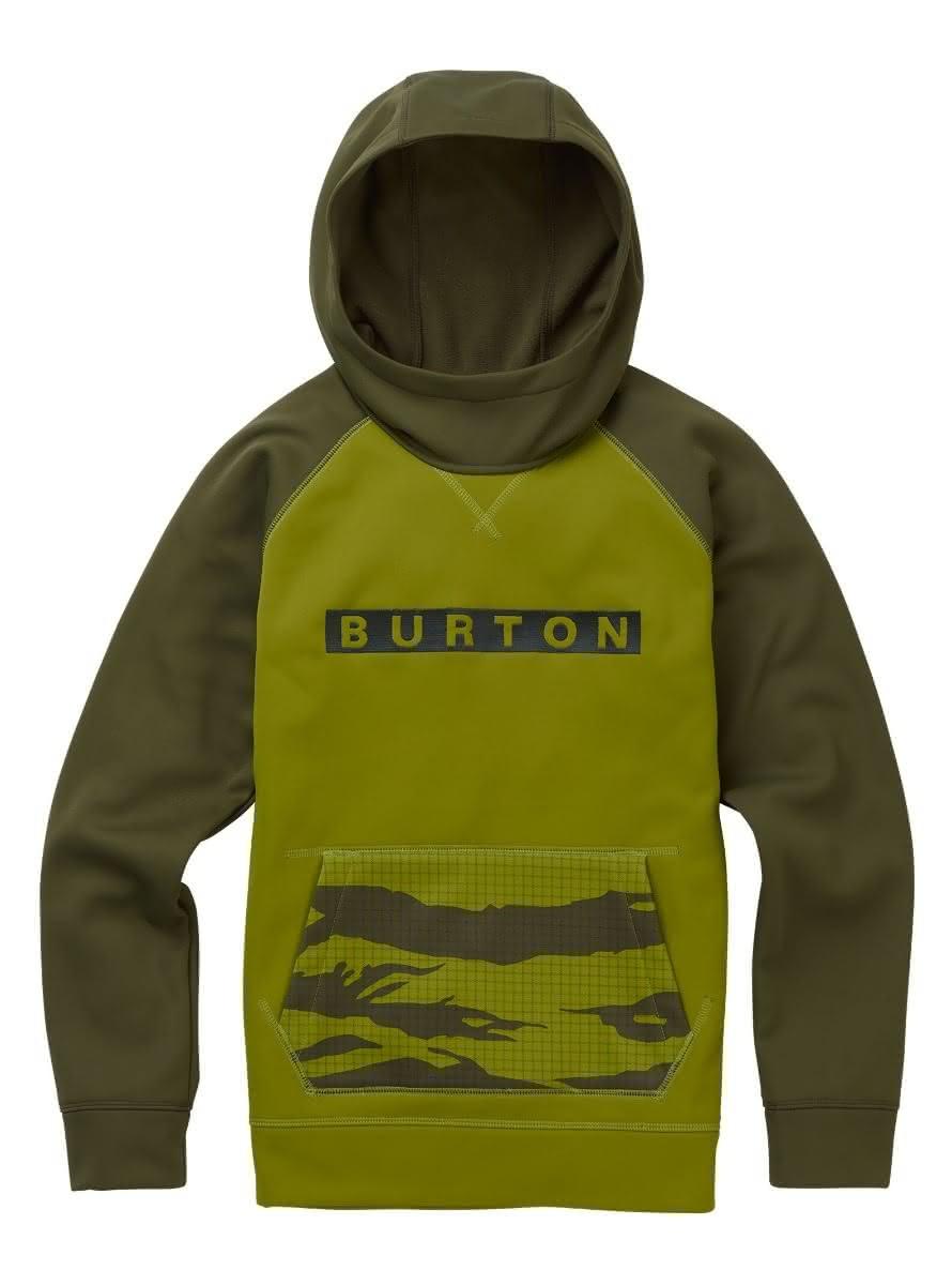 Dziecięca Bluza Aktywna Burton Boys Crown Bonded Po (Woodbine) W19