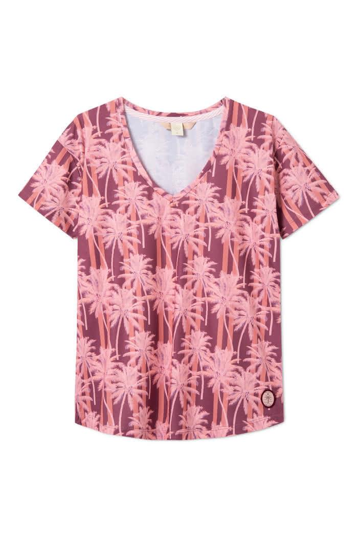 Koszulka Damska Femi Ayo (Palms)