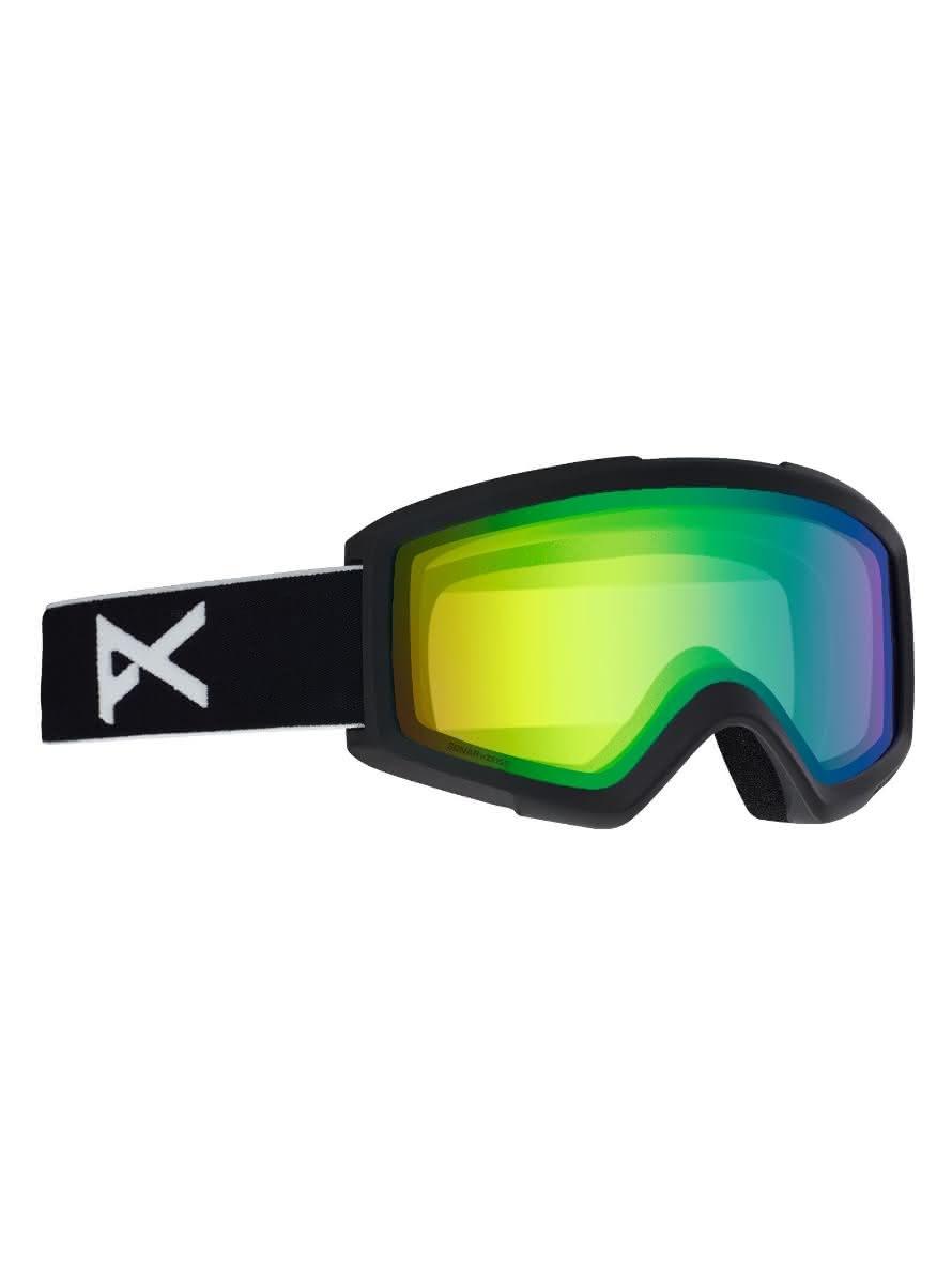 Gogle Anon Helix 2.0 Sonar + Spare Lens (Black / Sonar Green) W20