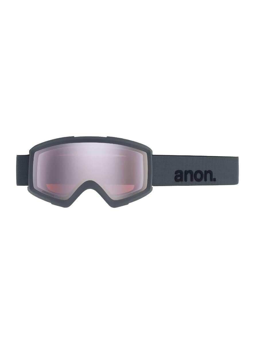 Gogle Anon Helix 2.0 Sonar + Spare Lens (Stealth / Sonar Silver) W20
