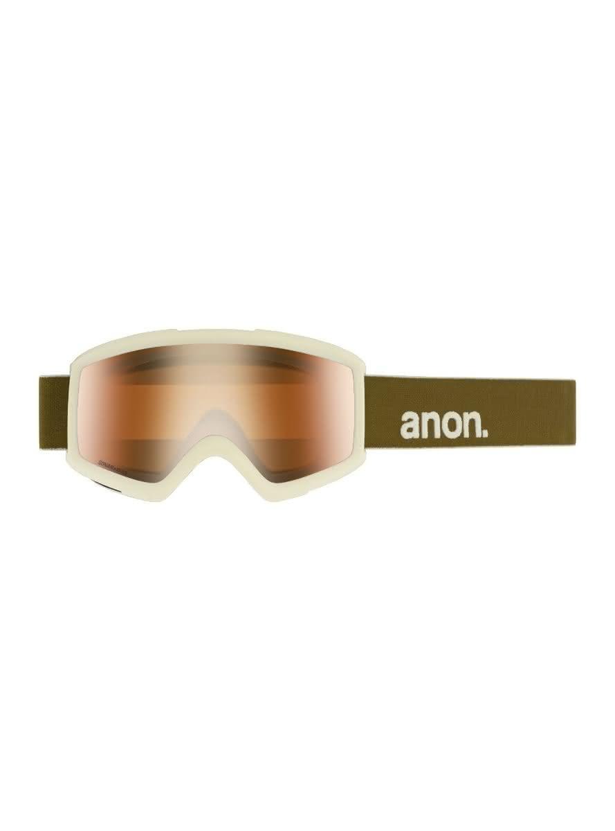 Gogle Anon Helix 2.0 Sonar + Spare Lens (Olive / Sonar Bronze) W20