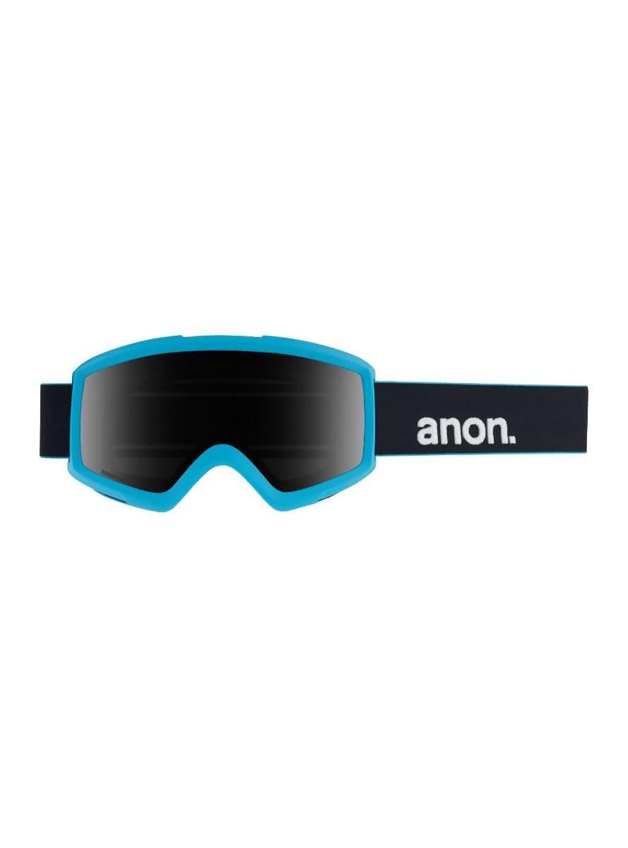 Gogle Anon Helix 2.0 Sonar + Spare Lens (Blue / Sonar Smoke) W20