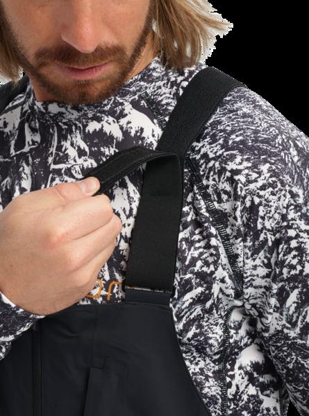 Spodnie Snowboardowe Burton AK GORE-TEX 3L Freebird Bib (True Black) FW20