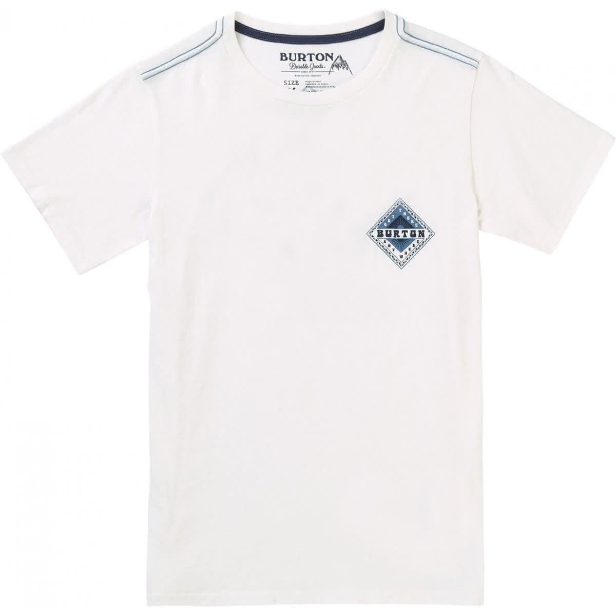 Dziecięca Koszulka Burton Boys Anchor (Syout White) SS18