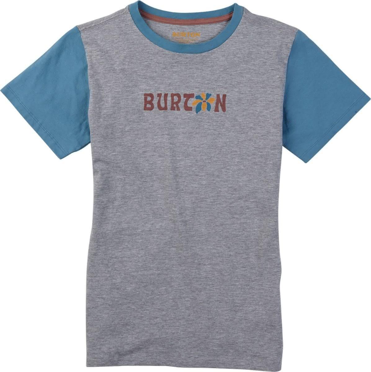 Dziecięca Koszulka Burton Girls Rarest (Grey Heather) Ss18