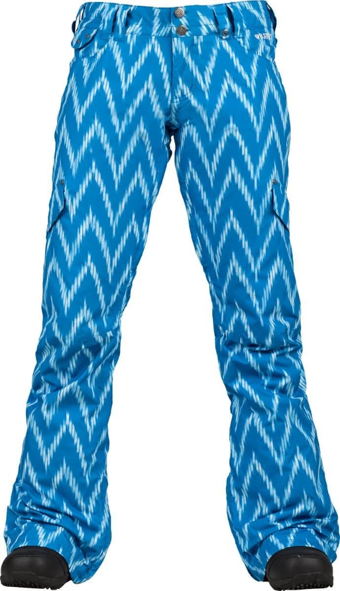Damskie Spodnie Snowboardowe Burton Twc Crush (Zig-Zag)