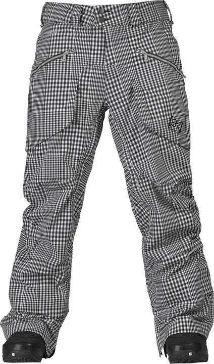 Spodnie Snowboardowe Burton Ak 3l Hover (True Black Gingham)