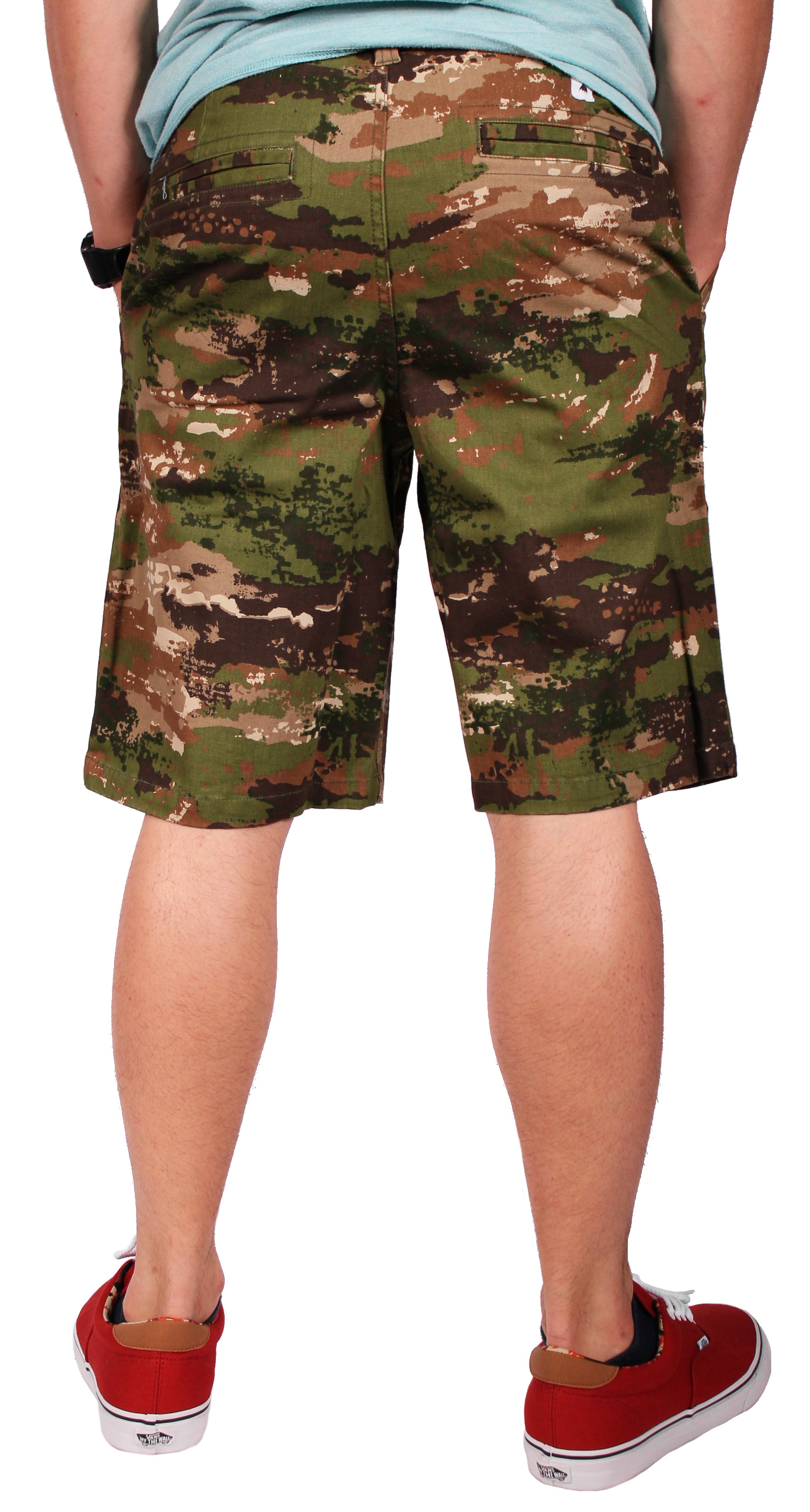 Szorty Burton Base Camp (Canvas Camo)