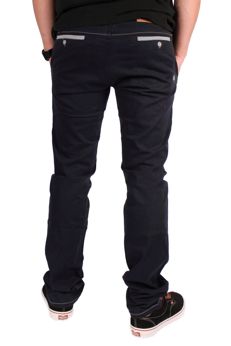 Spodnie Malita Chino New Slim Fit (Navy)