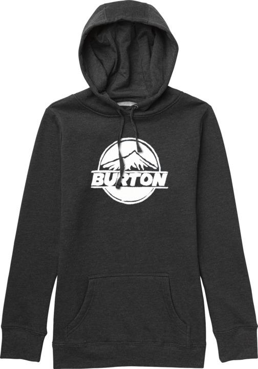 Bluza Burton Wms Rpet Peaked (Heather True Black)