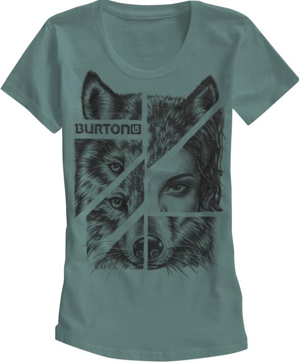 Koszulka Damska Burton Shewolf (Seaside)