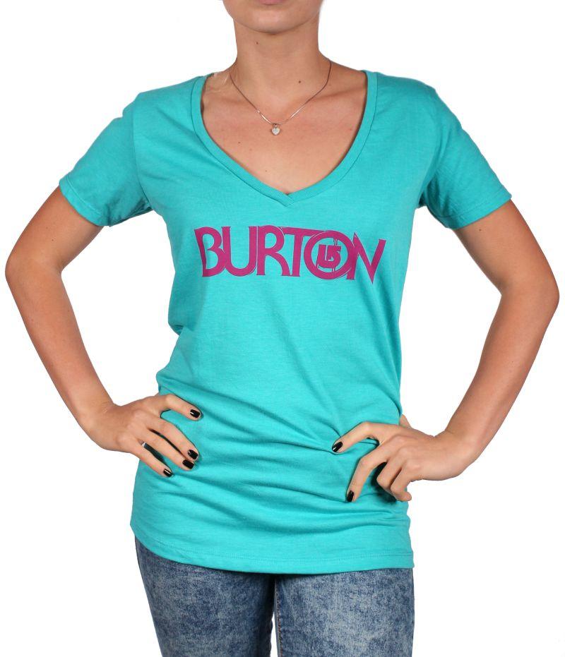 Koszulka Damska Burton Overspray V Neck (Shorebreak)