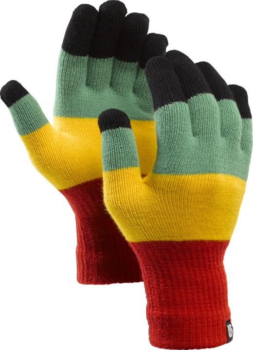 Rękawice Snowboardowe Burton Touch N Go Knit (Rasta)