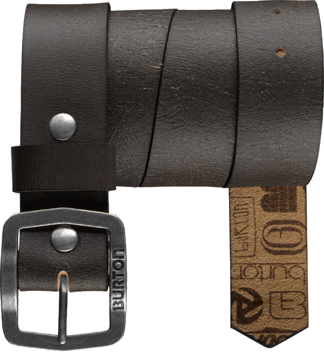 Pasek Burton Retreat Leather (True Black)