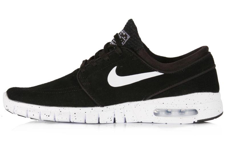 Buty Nike Sb Stefan Janoski Max L (Black / White)