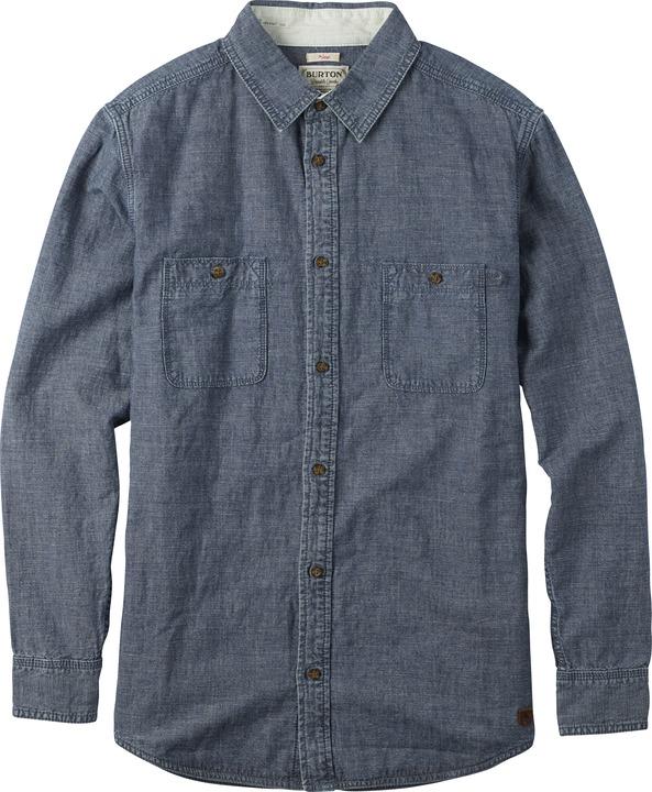Koszula Burton Lennox Ls Wvn (Chambray)