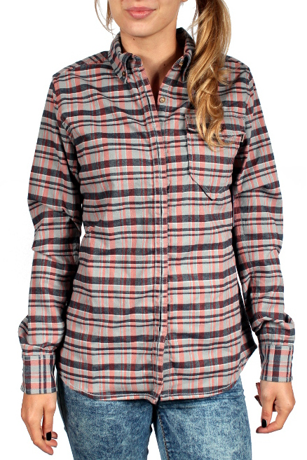 Koszula Burton Cora Flannel (Monument Heather Plaid)
