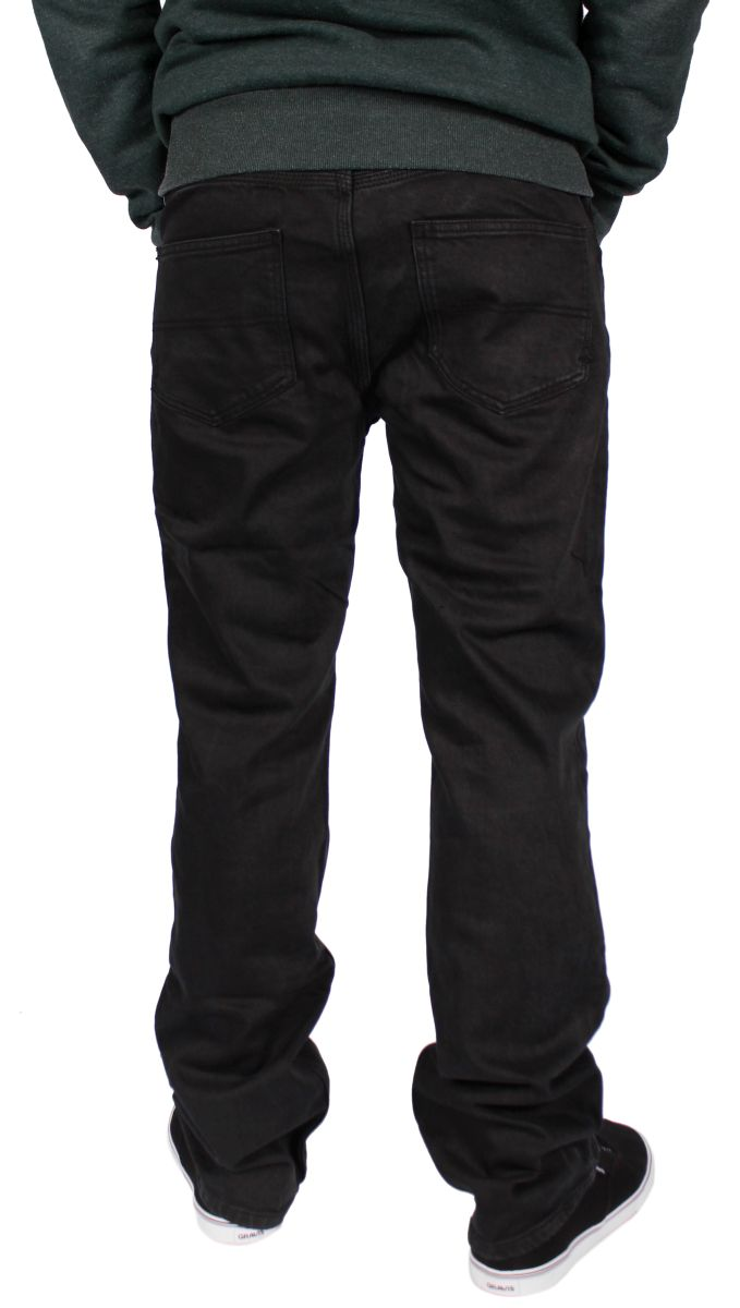 Spodnie Emerica Hsu Straight Denim (Black)