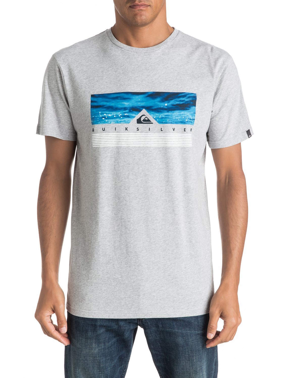 Koszulka Quiksilver Jungle Box (Athletic Heather) Ss17