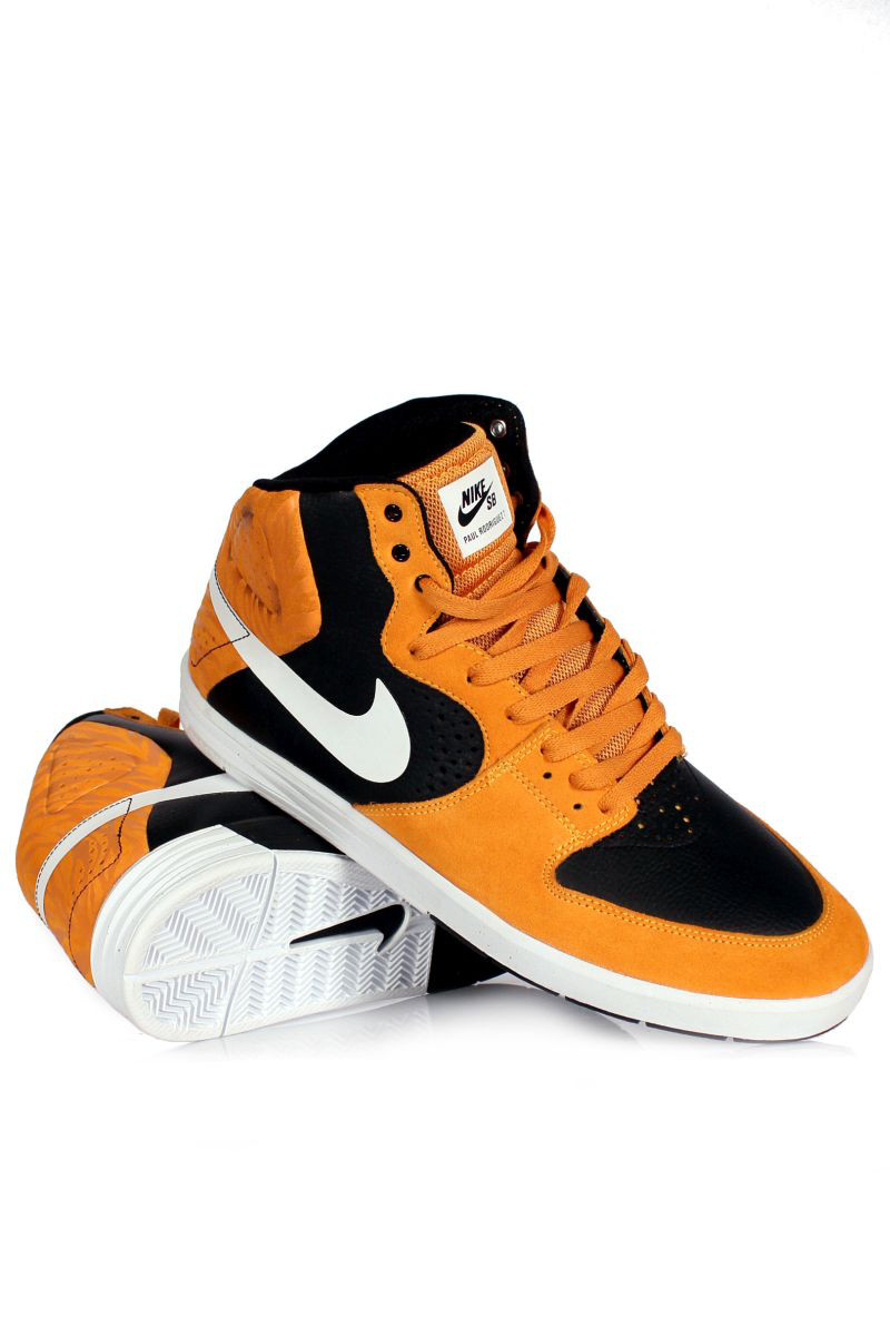 Buty Nike Paul Rodriguez 7 High (Laser Orange/ White-black)