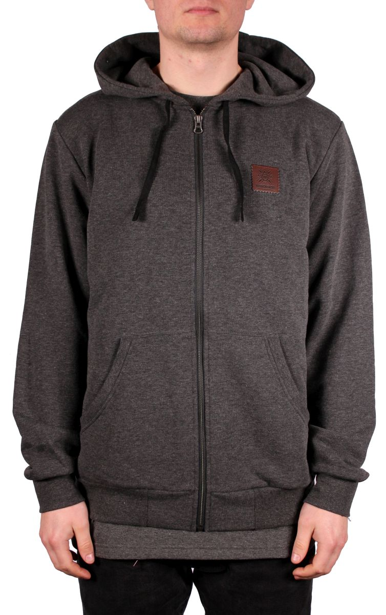 Bluza Turbokolor Moder Hood (Graphite Heather)
