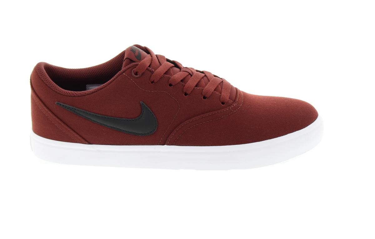 Buty Nike Sb Check Solar (Dark Team Red / Black-white) Cnvs