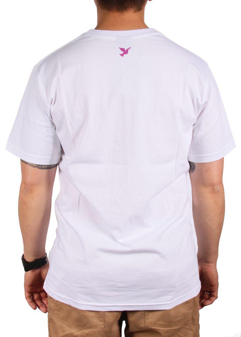 Koszulka Nervous Origami (White / Pink) Ss17