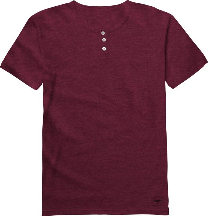 Koszulka Burton Pippin Hnly (Heather Oxblood)