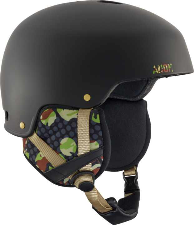 Kask Snowboardowy Anon Striker (Circle Camo Black) W18