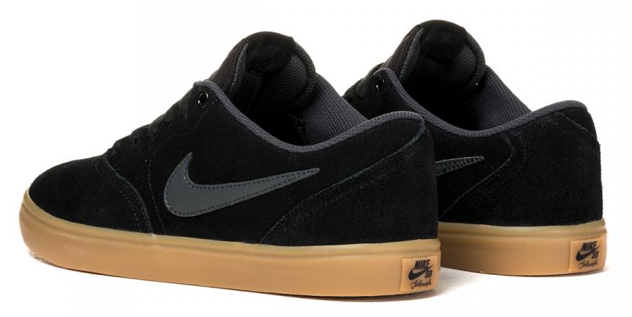 Buty Nike Sb Check Solar (Black /Anthracite Gum Dark Brown)