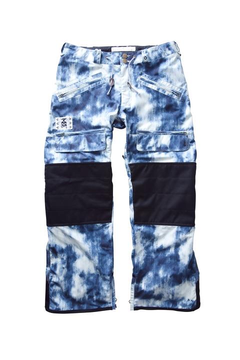 Spodnie Snowboardowe Analog Alder (Acid Wash Print)