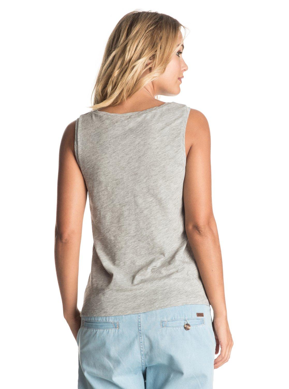 Koszulka Damska Roxy Billy Twist Straight Up (Heritage Heather) Ss17