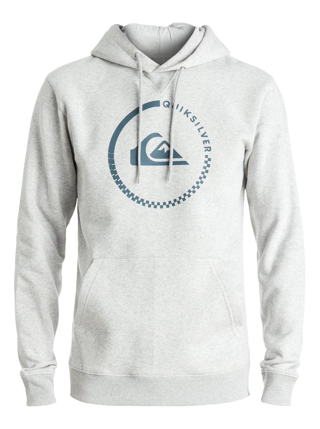 Bluza Quiksilver Big Logo Hoodie (Light Grey Heather) Ss17
