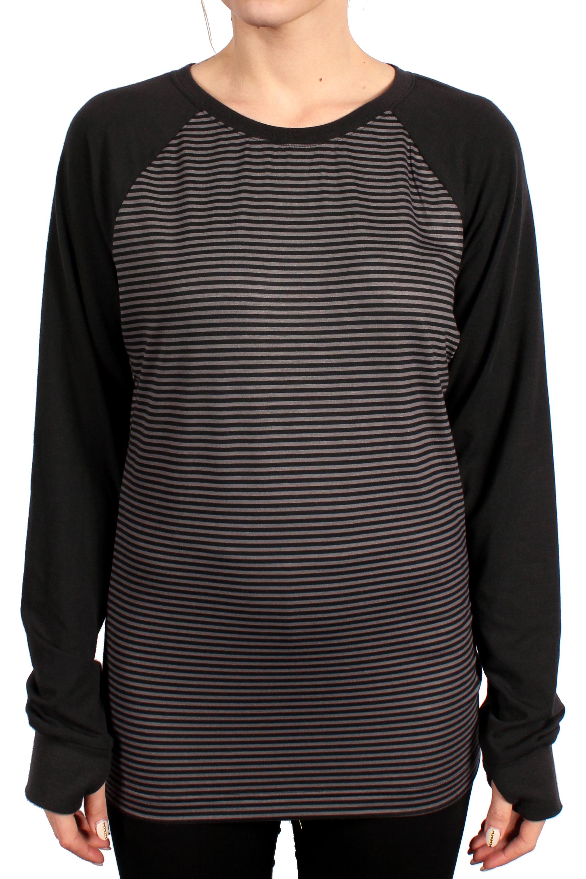 Longsleeve Burton Player (Black/ Heathers Stripe)