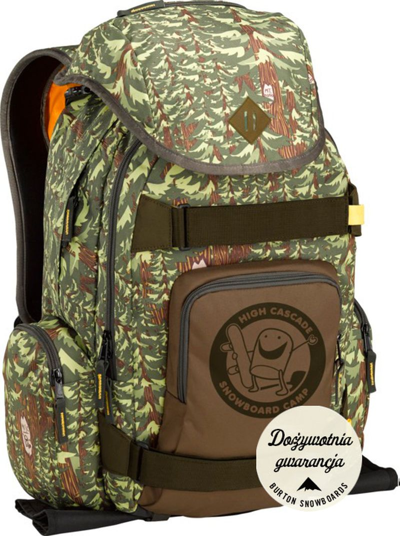 Plecak Burton Hcsc Shred Scout Pack (Forest Print)