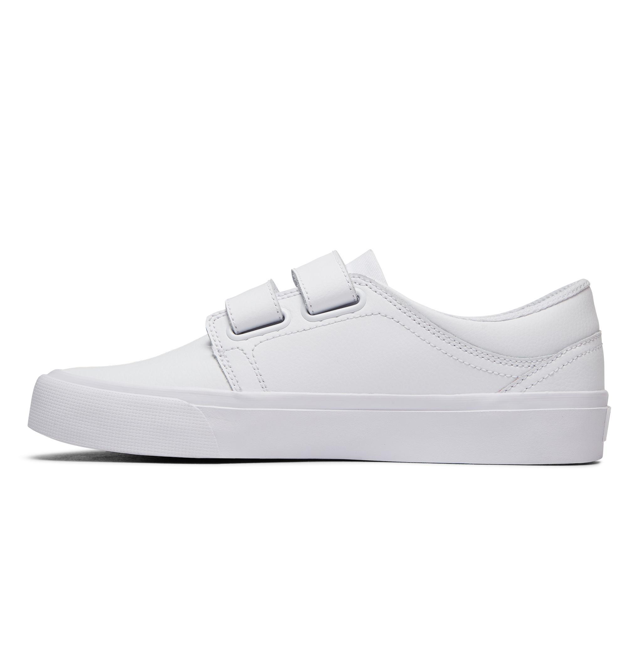 Damskie Buty Dc Trase V Se (White White Athletic Red) Ss18