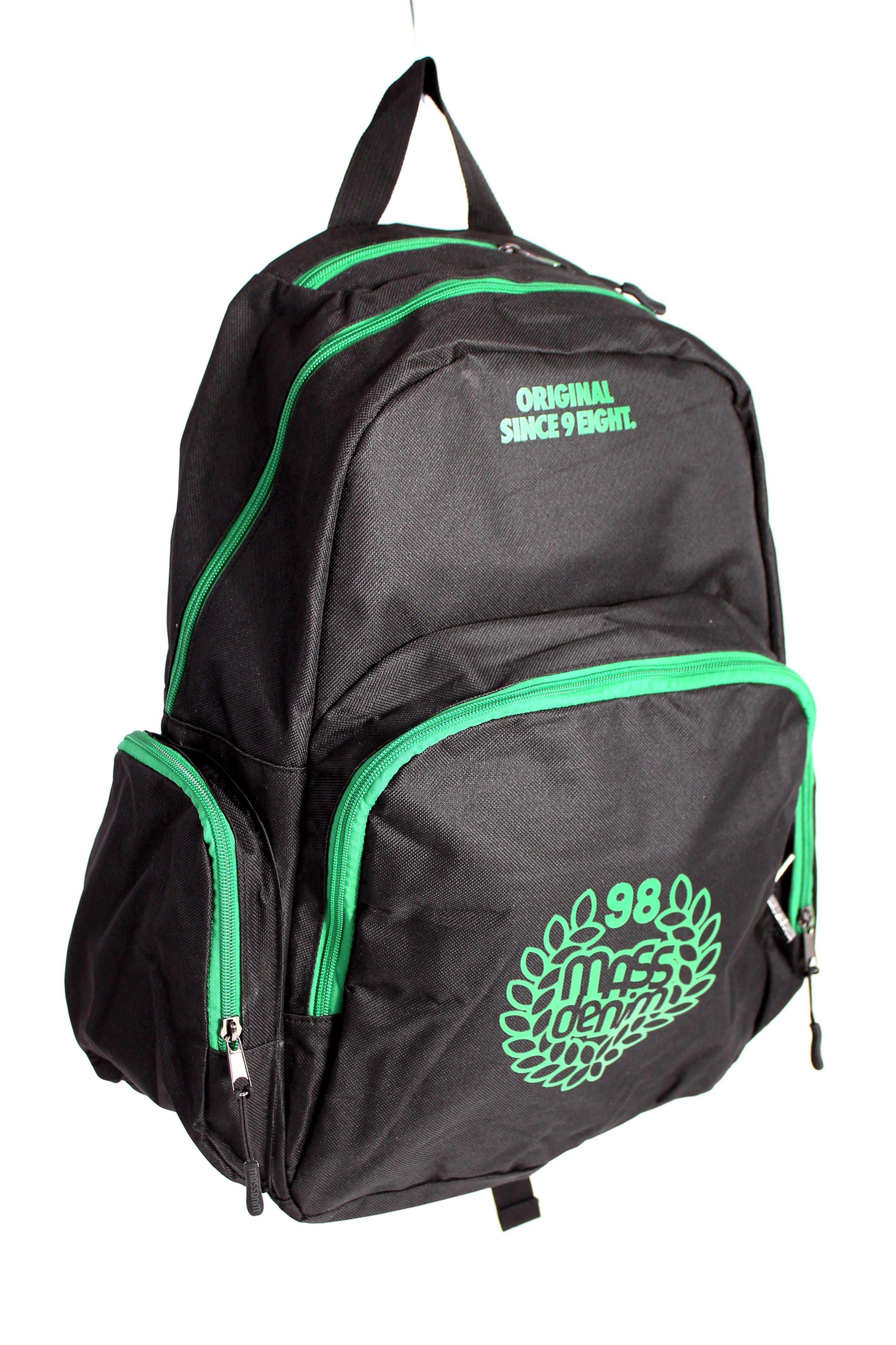 Plecak Mass Base Black/Green