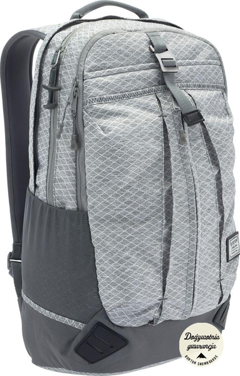 Plecak Burton Echo (Grey Heather Diamond Ripstop)