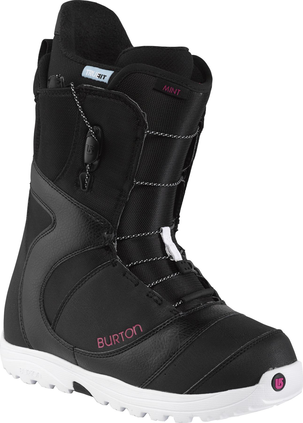 Buty Snowboardowe Burton Mint (Black /White /Pink)