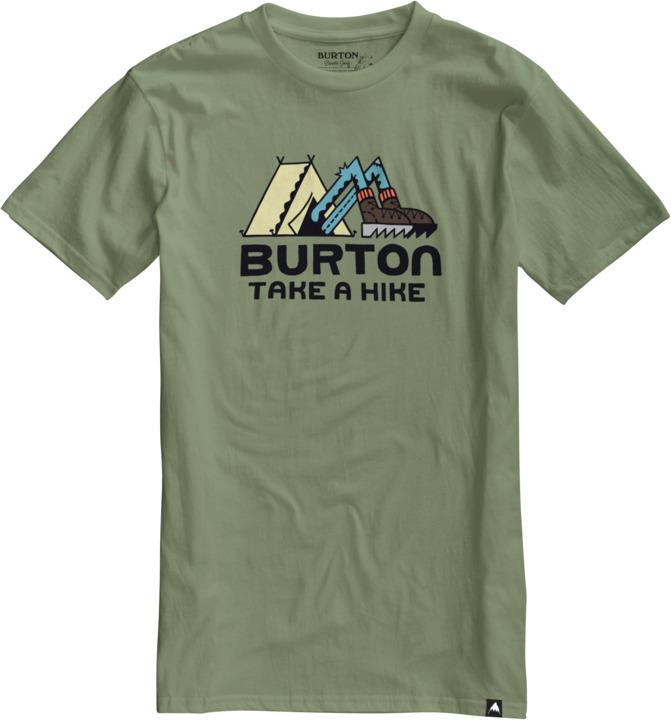 Koszulka Burton Take A Hike (Oil Green) Ss17