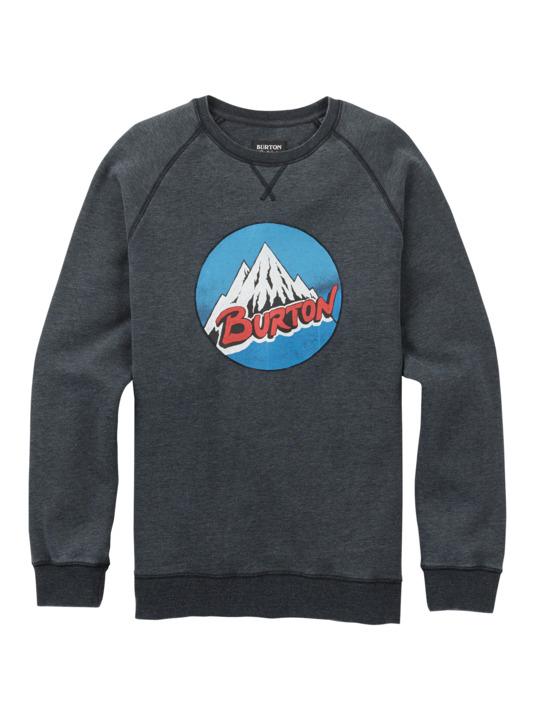 Bluza Burton Retro Mountain Crew (True Black Heather) W18