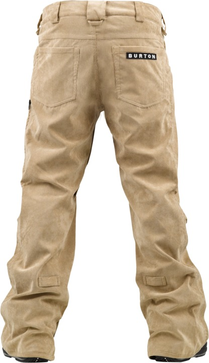 Spodnie Snowboardowe Burton Restricted Bulge Slim (Burlap/ White Stripe)