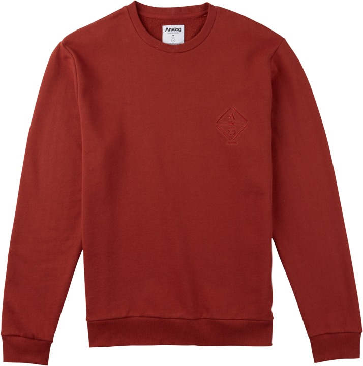 Bluza Analog Quick Strike Crew (Red Ochre)