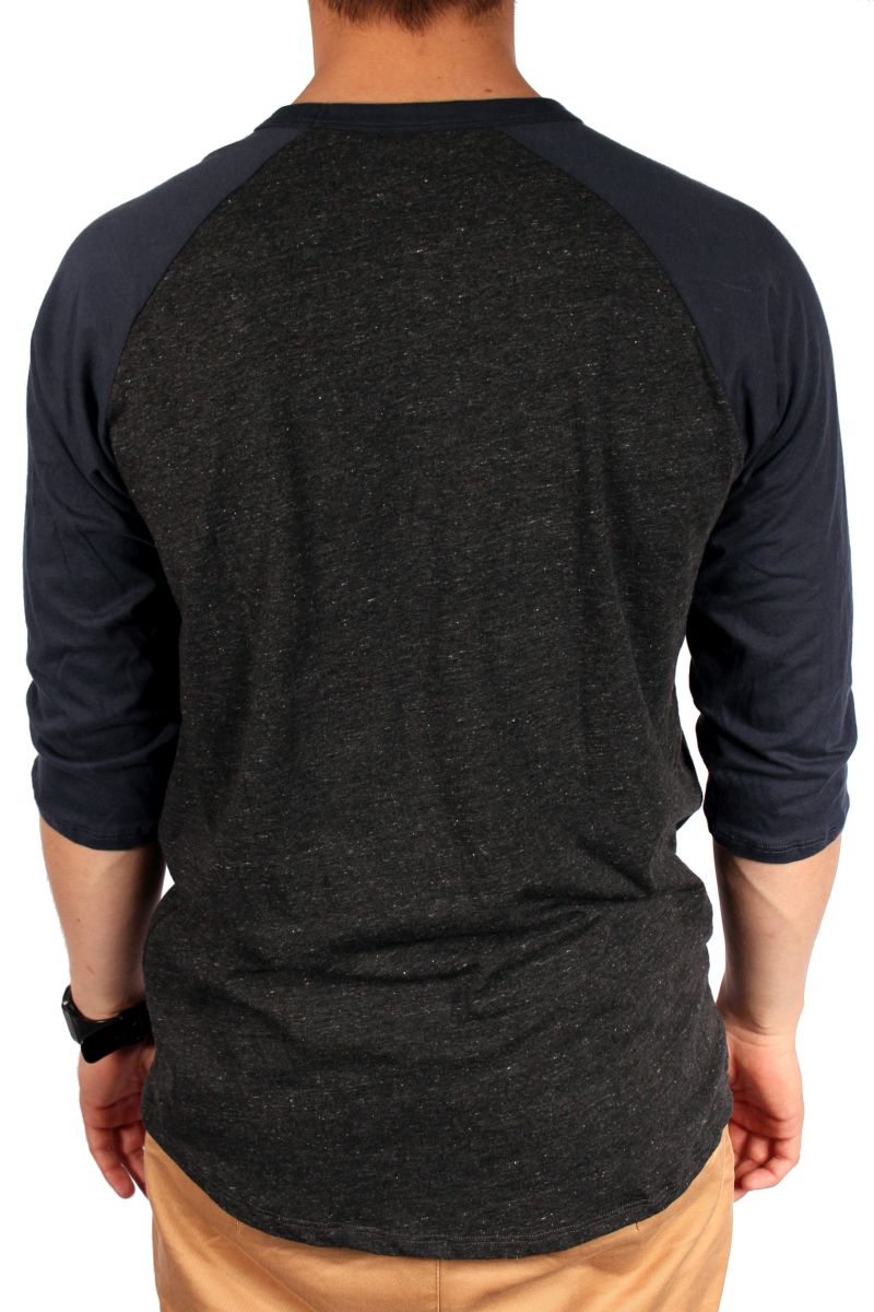 Koszulka Analog Baseball Tee (Dark Charcoal Heather)