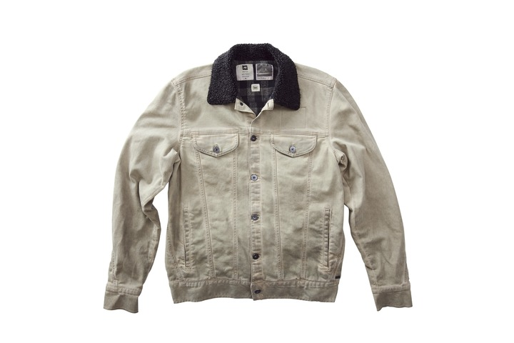 Kurtka Jeansowa Analog Origin (Dirty Khaki Wheel Wash)