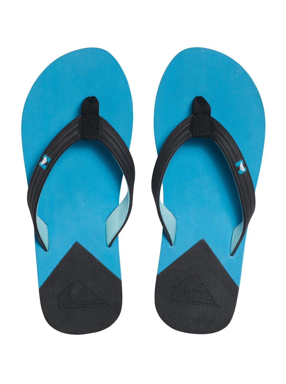 Japonki Męskie Quiksilver Molokai New Wave (Black Blue Blue)