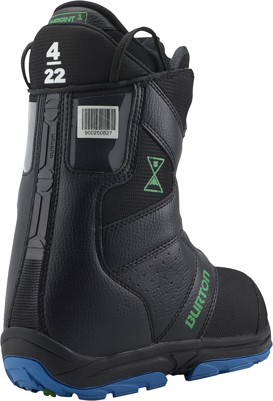 Dziecięce Buty Snowboardowe Progression (Black Green)