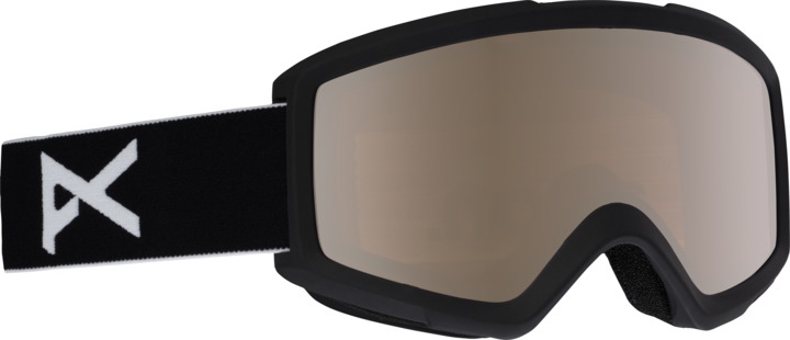 Gogle Anon Helix 2.0 + Spare Lens (Black / Silver Amber) W20